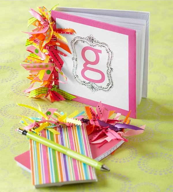 Ribbon Notebook BHG