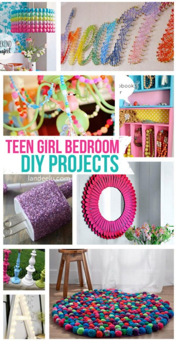 Teen-Girl-Bedroom-DIY-Projects