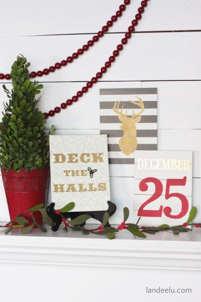 Christmas Sign DIY Kit