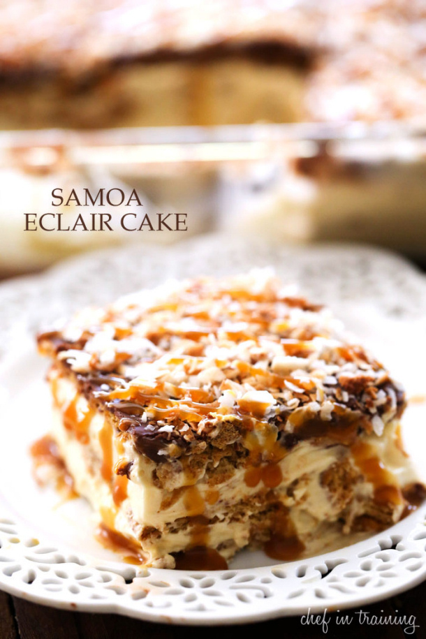 Image Result For No Bake Eclair Cake Chef In Training
