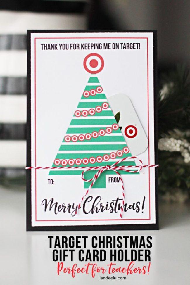 Teacher Gift Target Christmas