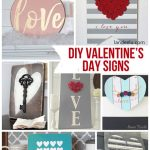 DIY Valentine's Day and LOVE Signs