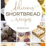A ton of amazing shortbread cookies recipes to try! The Twix bar ones look amazing. #shortbread #shortbreadcookies #shortbreadrecipes #cookies