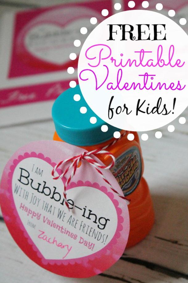 Valentines Bubble Activity