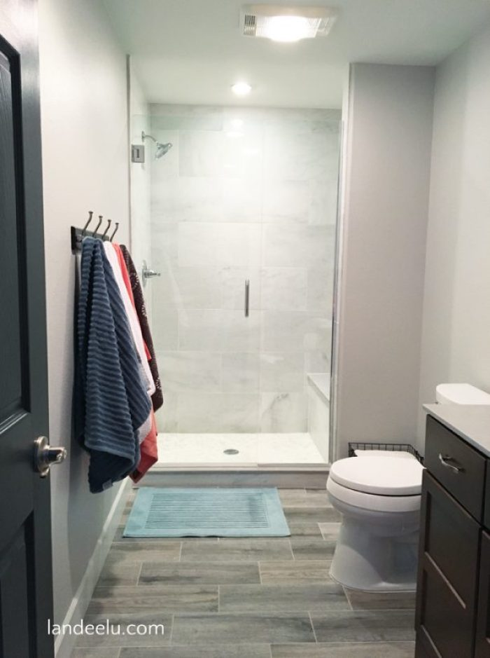 Finishing A Basement: The Bathroom | landeelu.com