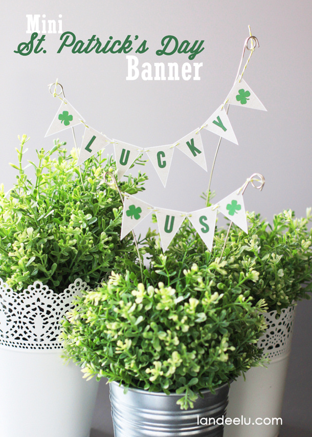 Mini-St-Patricks-Day-banner Lucky Us Bunting Landeelu