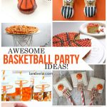 Basketball Party Treats and DIY Decorations