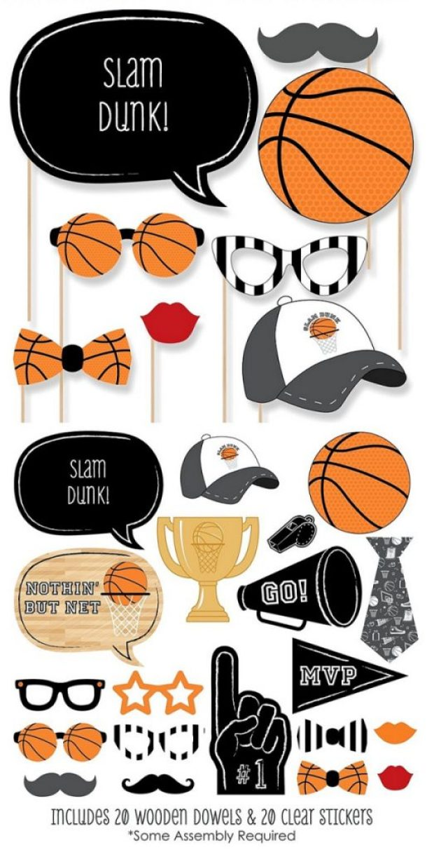 Basketball Photo Props Amazon