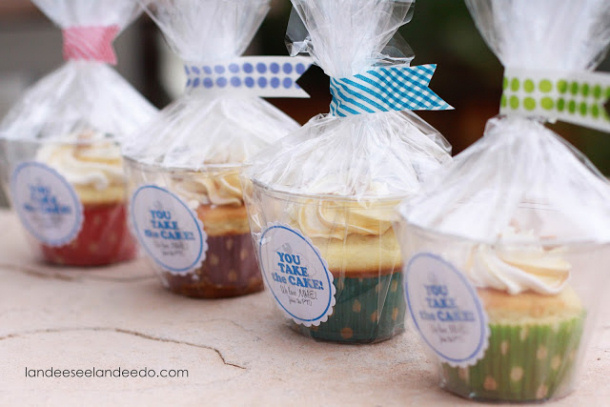 """DIY Projects Crafts Ideas """"You Take The Cake"""" Cute FREE PRINTABLE gift tag labels to attach to treats for Teacher Appreciation Week 