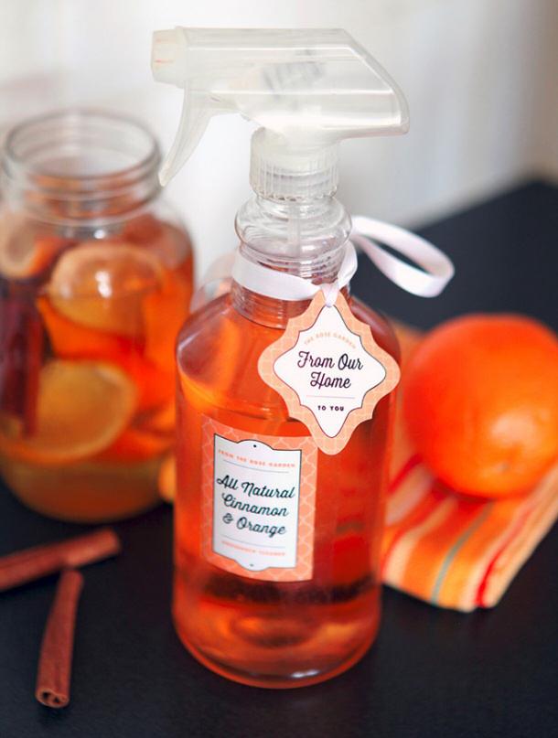 Orange Cinnamon All Purpose Cleaner via evermine