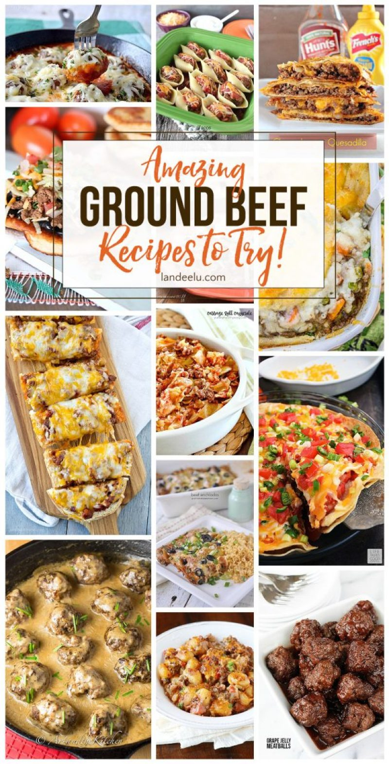 Pull some ground beef out of the freezer and try one of these awesome ground beef recipes tonight! Over 25 delicious meals to make!