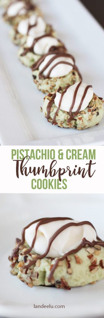 These thumbprint cookies are amazing!! Easy to make but seem so fancy and they are delish! I had them at a baby shower not too long ago. Yum!
