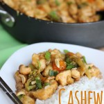 Only takes 30 minutes to make. Awesome Cashew Chicken recipe!