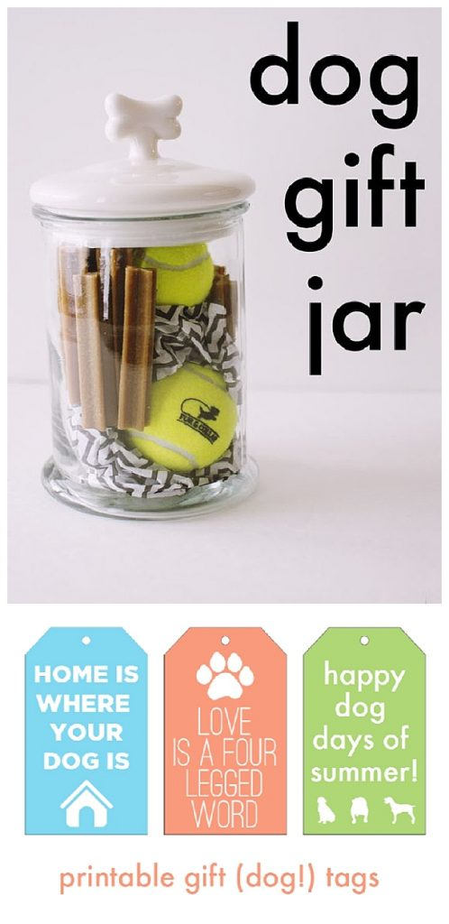 Do it yourself gift basket ideas for all occasions landeelu people love it when you include all of their kids love this do it yourself dog gift in a cute treat jar filled with dog toys and treats idea including solutioingenieria Gallery