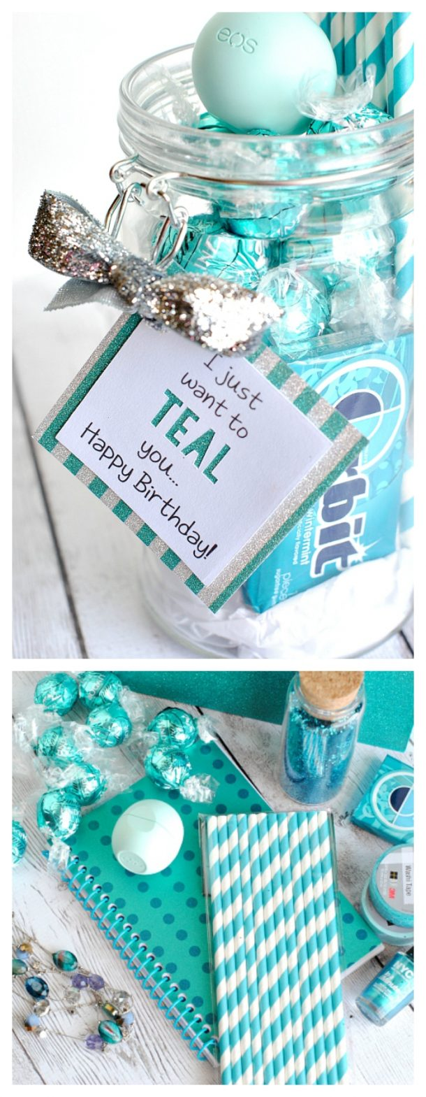 Do it yourself gift basket ideas for all occasions landeelu do it yourself gift basket ideas for all occassions teal theme gift theme idea with solutioingenieria Images