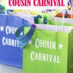 Cousin Carnival Party Idea: So many fun DIY games you can make out of what you have around the house! landeelu.com #summeractivity #backyardparty #yardgames #partyideas