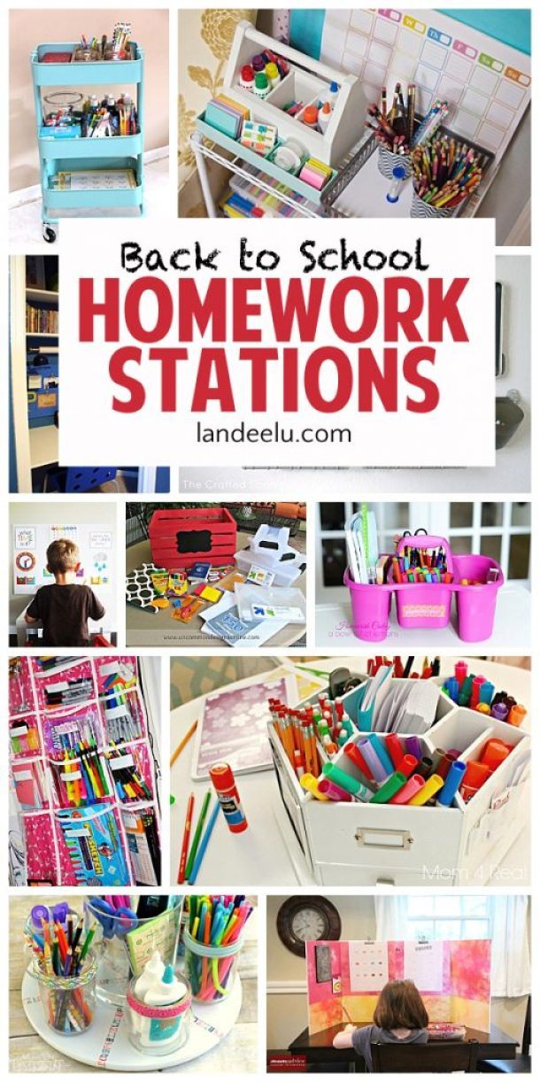 I love these ideas to get the kids motivated to do homework when they head back to school!