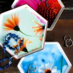 A beautiful decoupage project! Gorgeous jewelry dishes