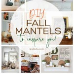 Over 20 beautiful DIY fall mantel ideas ready to inspire you! #falldecor #fallmantel #fall #pumpkins #fallhome