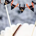 Halloween Party Mini Cake Bunting (free printable)