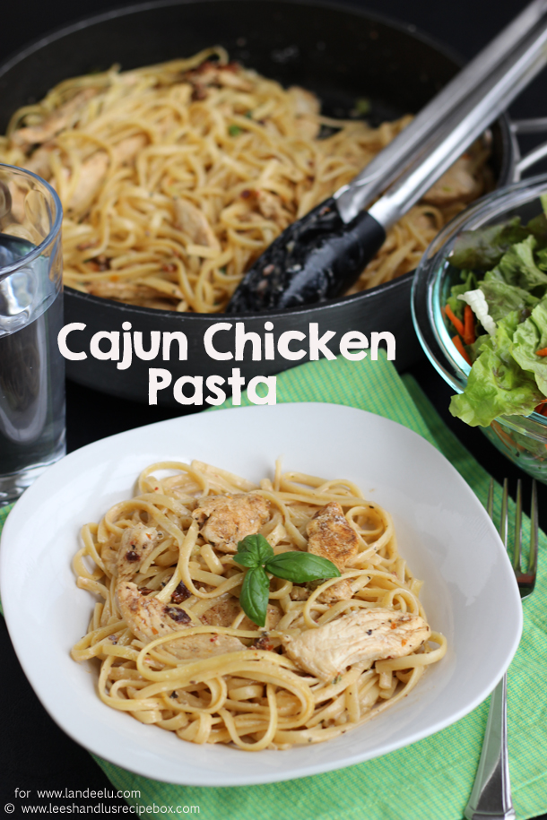 A Perfect Weeknight Meal: Cajun Chicken Pasta Dinner Recipe | Landeelu