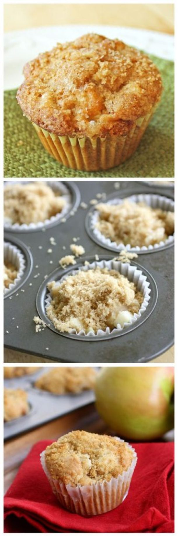 Apple Muffins - One of the most popular recipes on her site! via The Girl Who Ate Everything - Apple Recipes