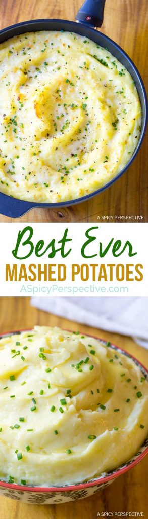 Best Mashed Potatoes Recipe | A Spicy Perspective