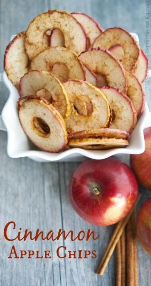 Cinnamon Apple Chips Recipe and Tutorial | Carrie's Experimental Kitchen - Apple Recipes