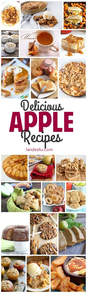 These apple recipes look soooo yummy! I can't wait to try them!