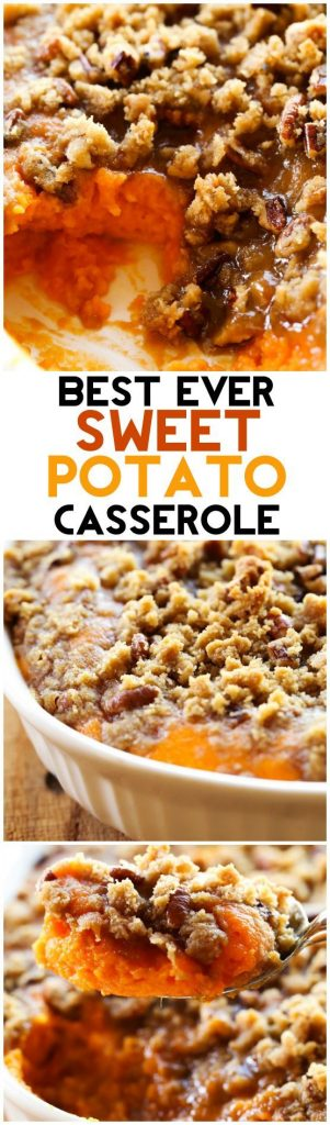Best Ever Sweet Potato Casserole Side Dish Recipe | Chef in Training