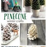 Pretty Winter Crafts Using Pinecones! #wintercrafts #pinecones #pineconecrafts