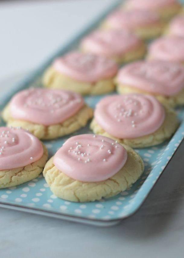 Almond Butter Sugar Cookies | Landeelu
