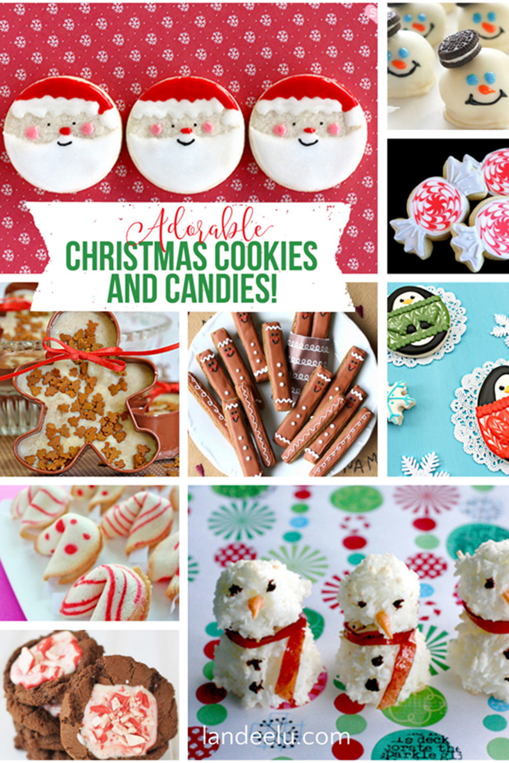 Christmas Cookies!! So many great ideas for neighbor gifts and cookie exchanges! #christmascookies #christmascandy #homemadecookies #christmasgoodies