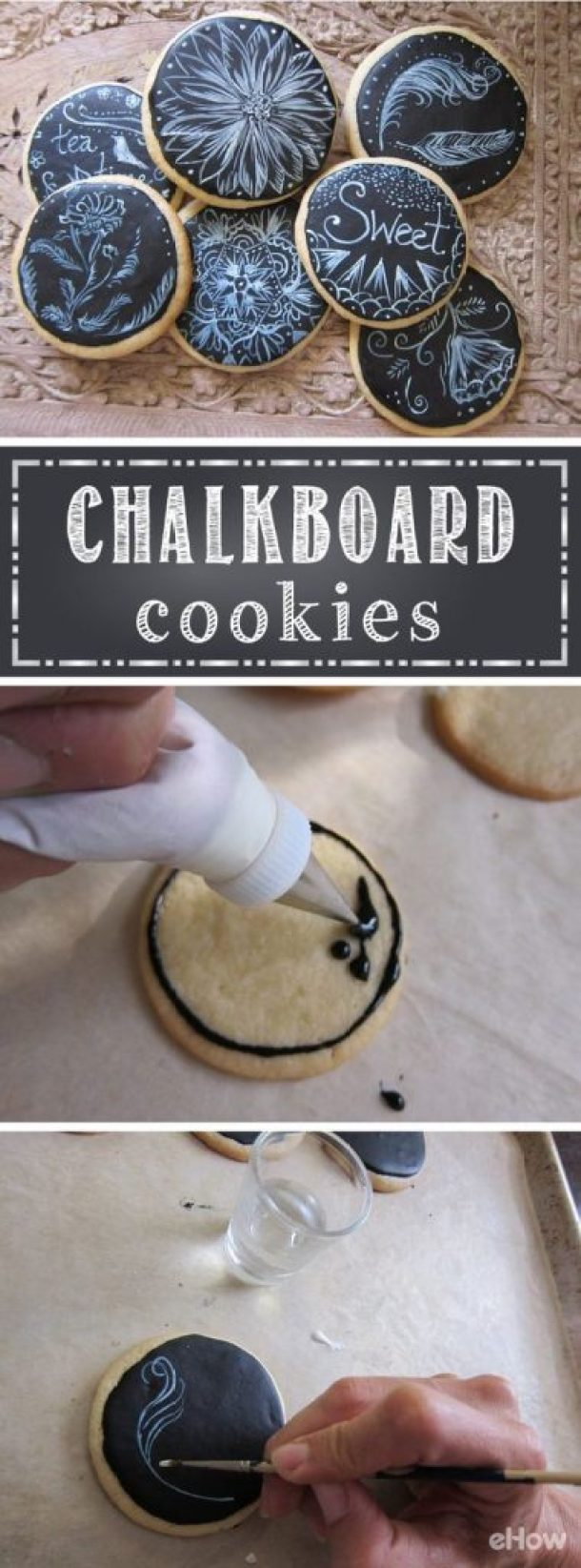 How to create Chalkboard Sugar Cookies! | eHow