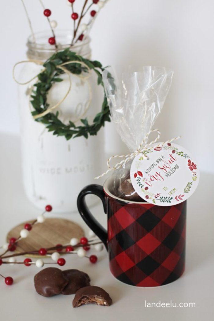 Love these free printable Christmas tags!
