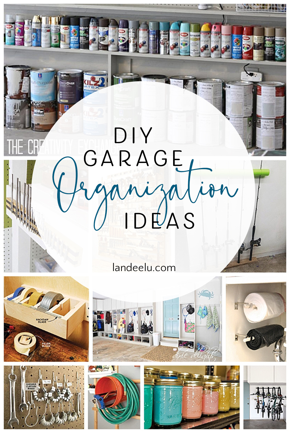 So many awesome DIY garage organization ideas. I needed these! #garageorganization #organize #organizingideas #garageideas
