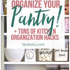 Love these ideas for kitchen organization... that pot lids one is genius! #kitchenorganization #kitchentips #organization #organizingtips
