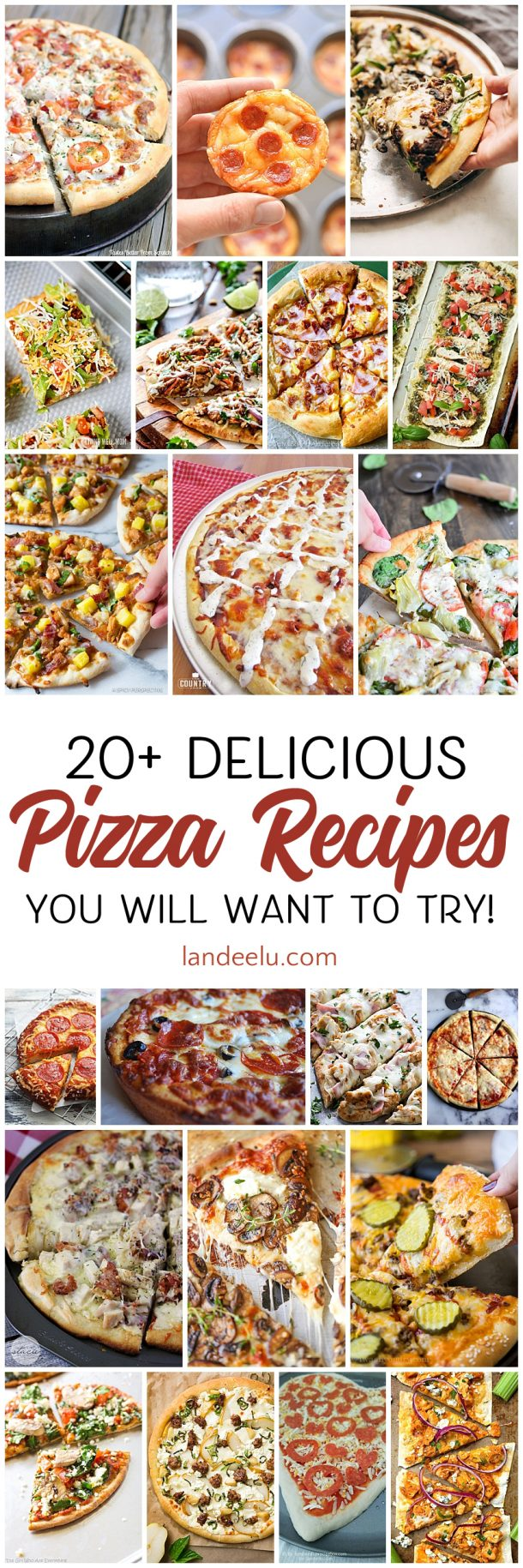 Yummy pizza recipes to try for our weekly pizza night!
