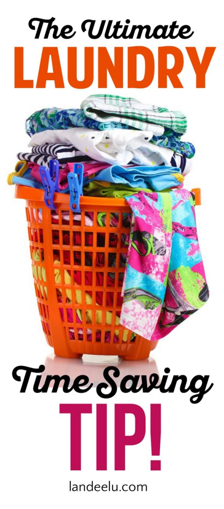 Save LOADS of time doing laundry with this one simple tip!