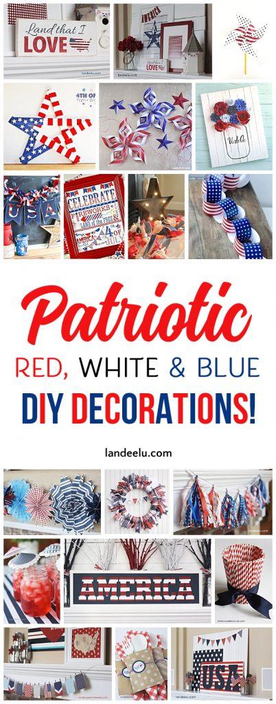 4th of July Decorations to Show Your Patriotism! - landeelu.com