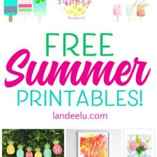 Free Summer Printables to Make Summer Fun!