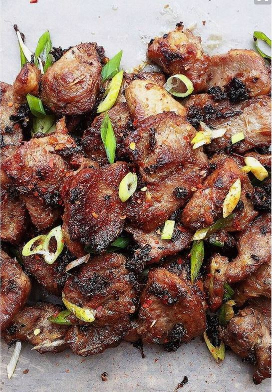 "Vietnamese Grilled Lemongrass Pork Recipe | I Heart Umami ""This is a Paleo and Keto friendly Vietnamese Grilled Lemongrass Pork. The pork is grilled to perfection with caramelized surface."""