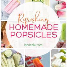 Beat the heat by trying some of these delicious homemade popsicle recipes! #popsiclerecipes #homemadepopsicles #summertreat #summerrecipe