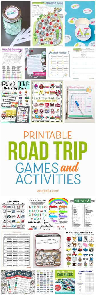 a ton of awesome printable car games for kids so easy to print and entertain