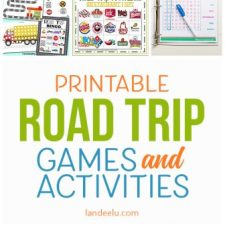 Printable Car Games for Kids: A Must for Your Next Road Trip!