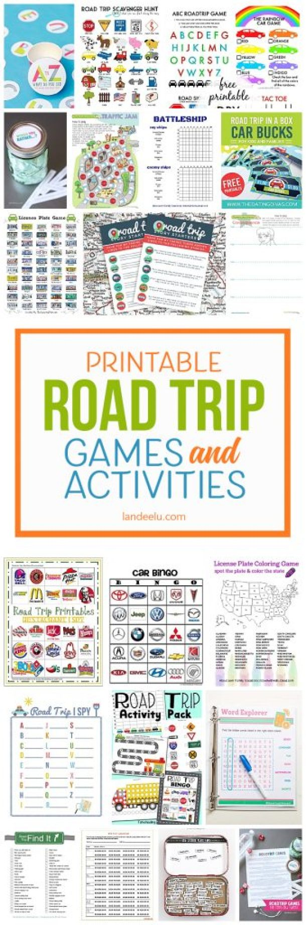 printable car games for kids a must for your next road trip
