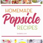 Give me all the homemade popsicle recipes! Lots to try and help you cool down this summer!