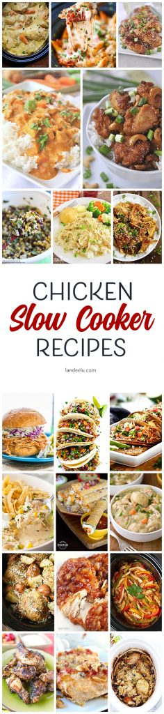 Slow cooker chicken recipes to make busy nights easier!
