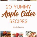 Apple Cider Recipes- More than just cider!