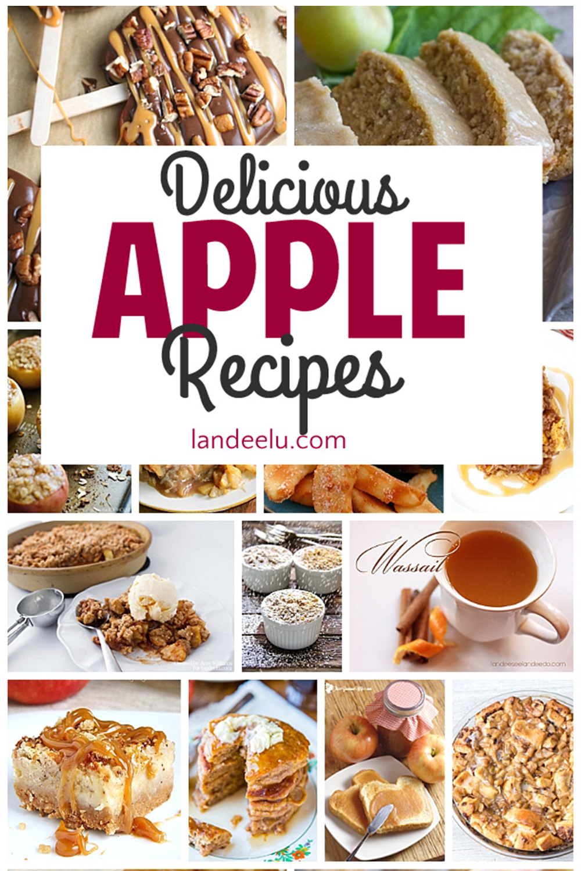 These apple recipes look soooo yummy! I can't wait to try them! #applerecipes #fallrecipes #apples